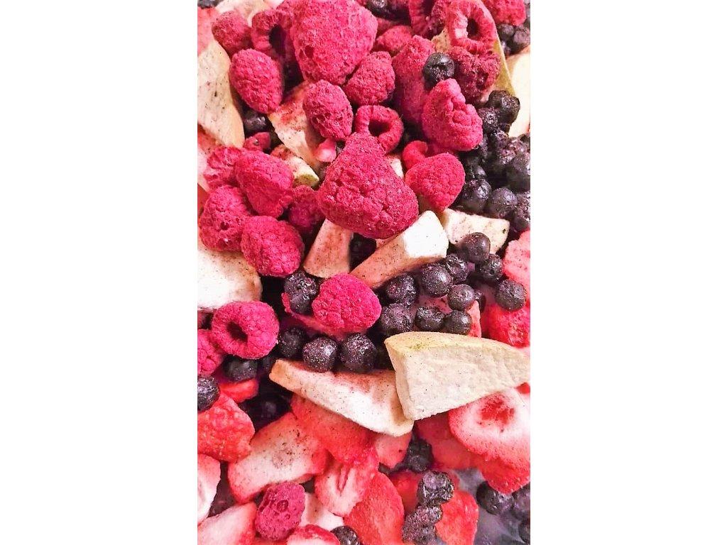 MiXniSi jahody,maliny, hrušky a borůvky