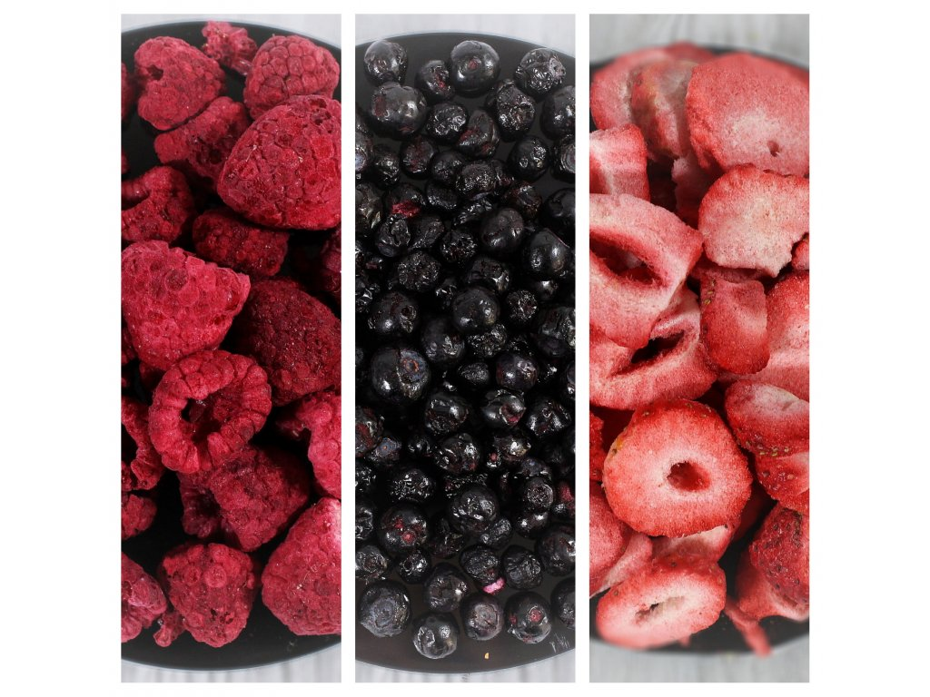 MiXniSi jahody, borůvky a maliny