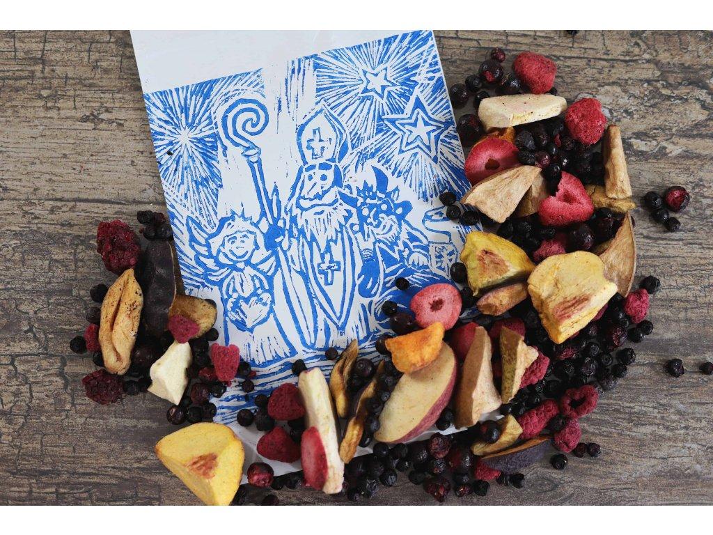 Balíček od Mikuláše s lyofilizovaným ovocem 3