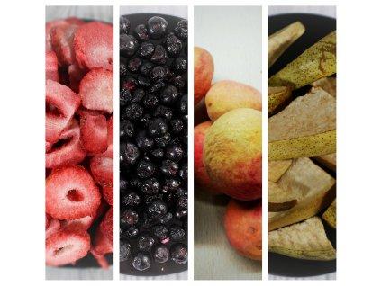 MiXniSi jahody, borůvky, meruňky a hrušky
