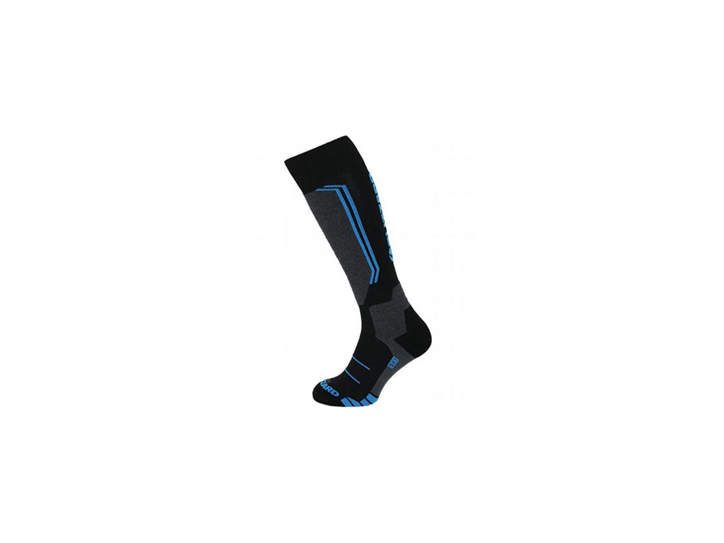 Blizzard Allround Ski Socks junior black/anthracite/blue