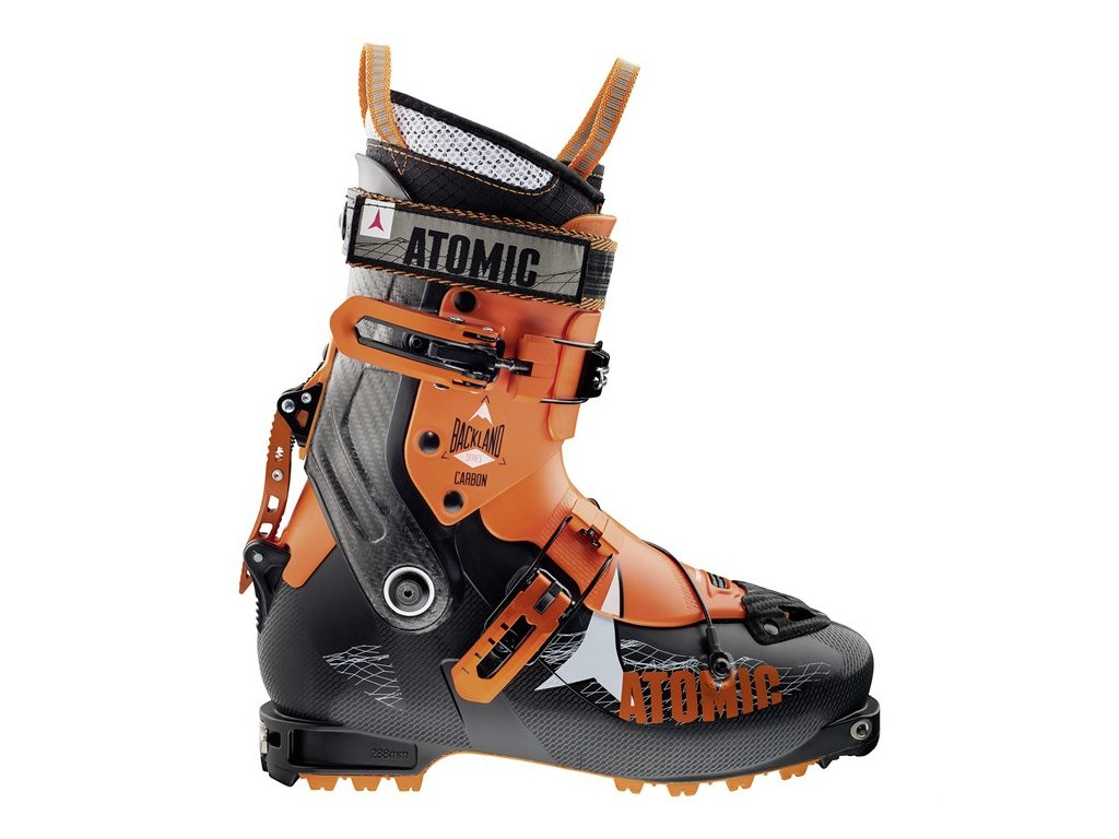 atomic backland carbon alpine touring ski boots 2017 side