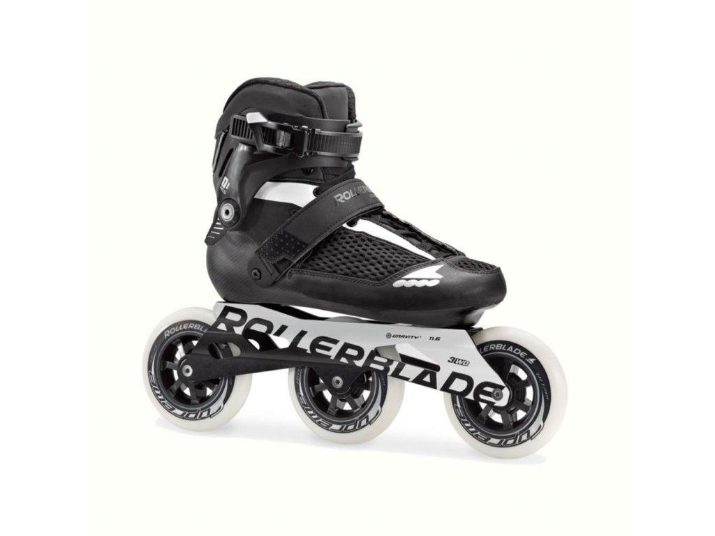 Rollerblade ENDURACE 110, Black/White
