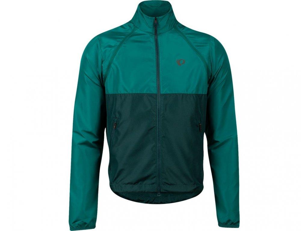Cyklistická bunda Pearl izumi ELITE BARRIER CONVERTIBLE Alpine green/pine