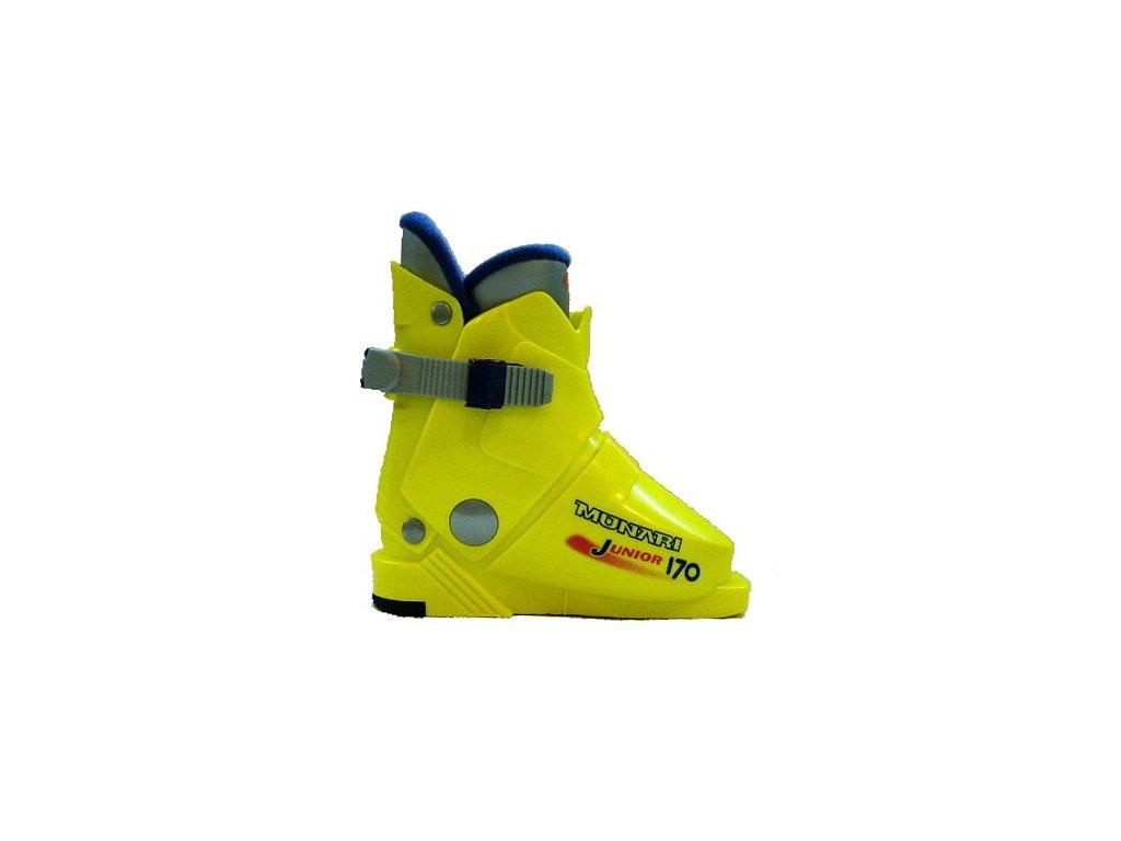 Lyžařské boty Munari JUNIOR 170 - giallo yellow 16/17