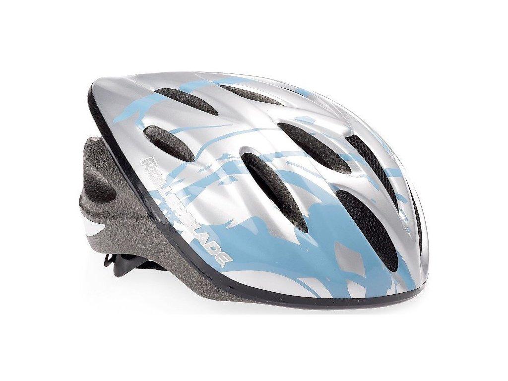 Inline helma Rollerblade WORKOUT Silver/Avio