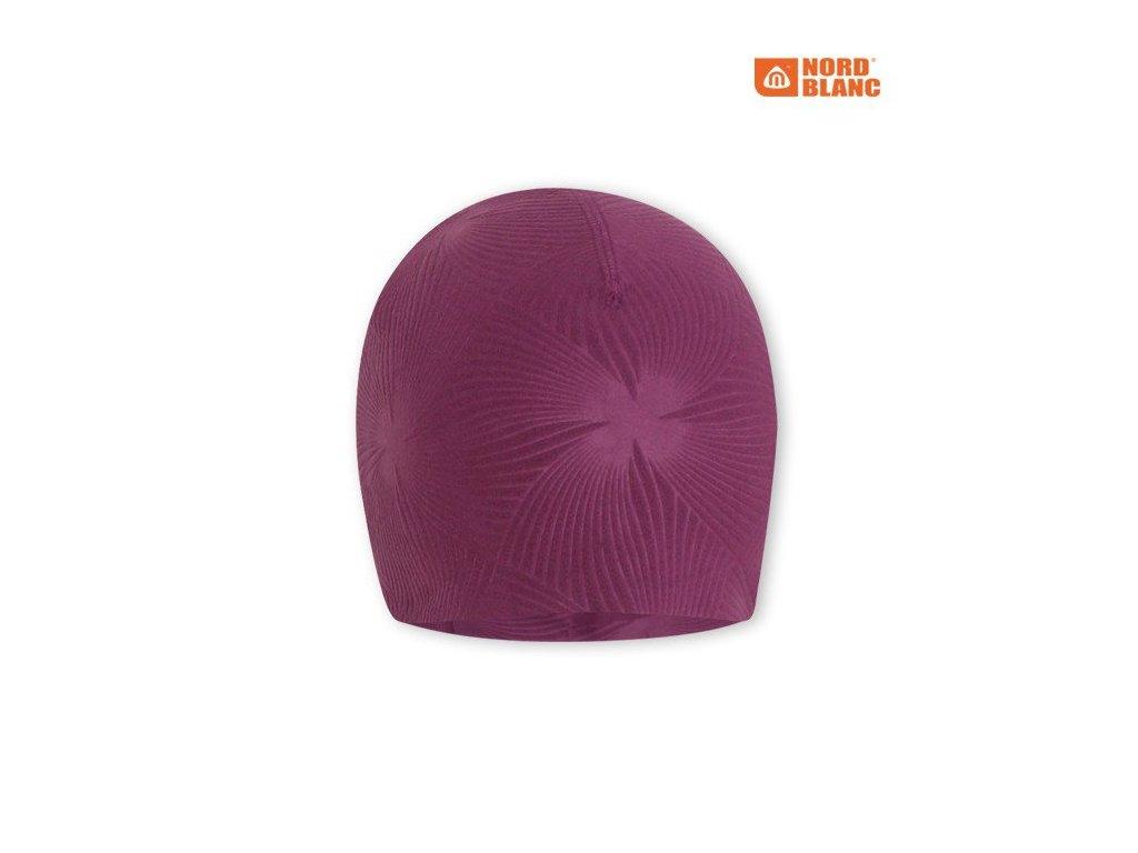 Nord Blanc NBWHK2878 čepice - fialová 16/17