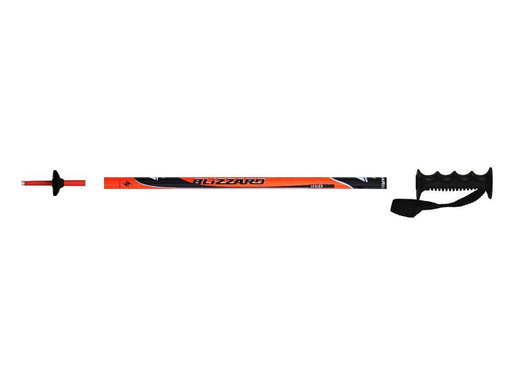Lyžařské hole Blizzard SPORT Jr. - orange/black 16/17