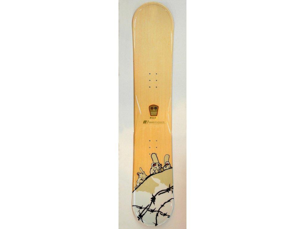 Snowboard Nano RECON, dřevo, 17/18