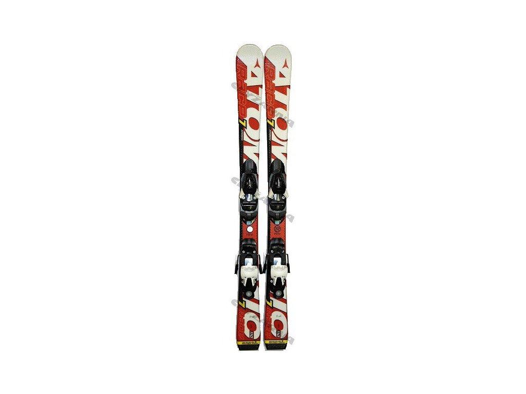 Sjezdové lyže Atomic RACE 7 JR + vázání EVOX 045 red/white 12/13