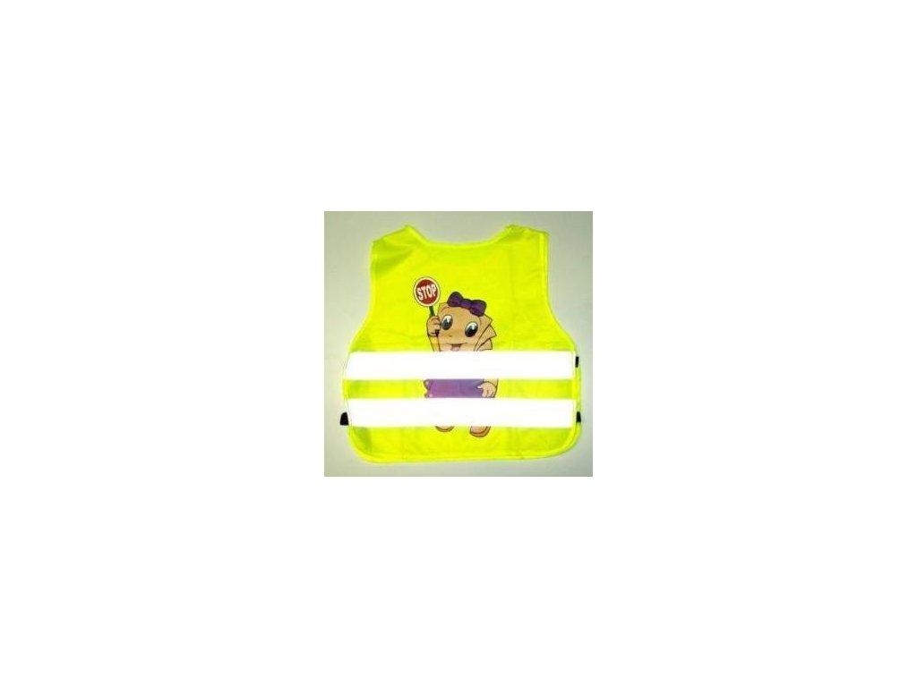 0 VESTA DĚTSKÁ REXLEX - žlutá