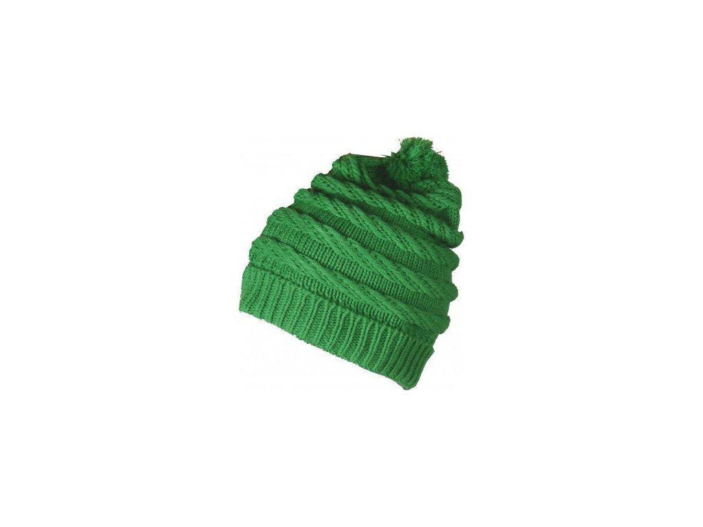 FIVE SEASONS OMEGA HAT - zelená 17/18