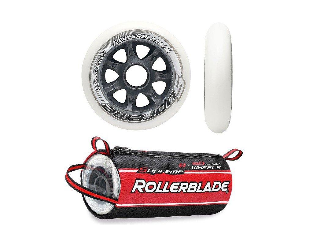 Inline kolečka Rollerblade SUPREME 100/85A (sada 8ks)