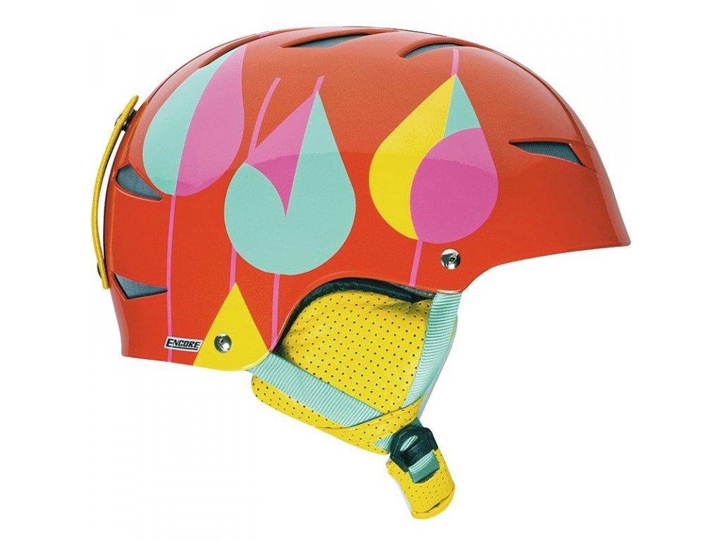 Lyžařská helma Giro ENCORE 2 - orange /red 16/17