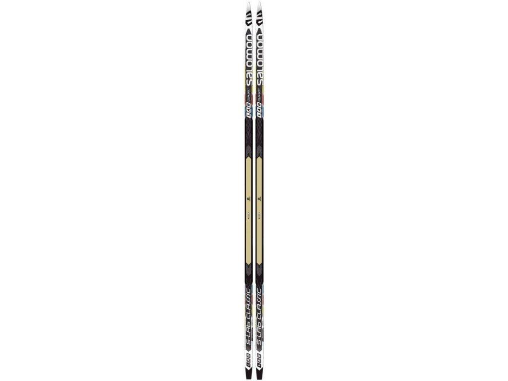 Salomon S-LAB CLASSIC cold/med, black/white, 16/17