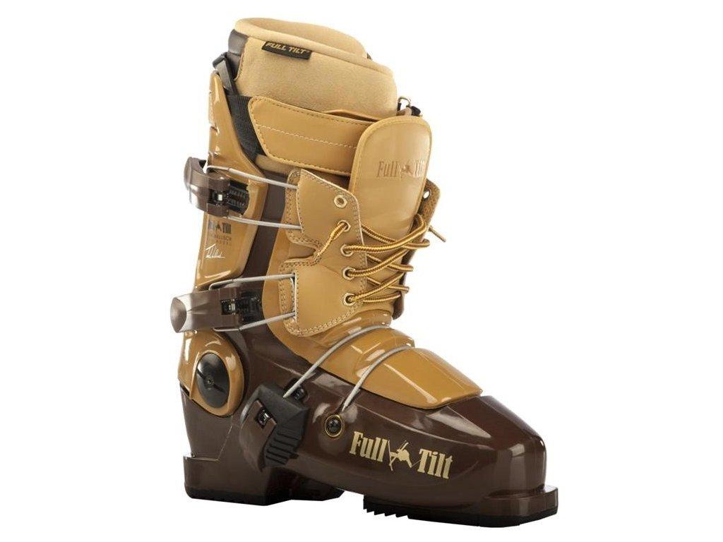 Lyžařské boty Full Tilt TOM WALLISCH PRO MODEL, brown, 13/14
