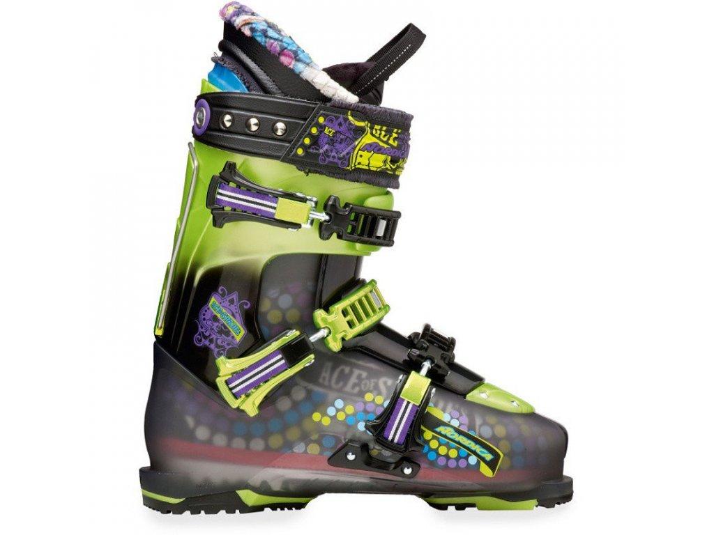 Lyžařské boty Nordica ACE OF SPADES, green, 13/14