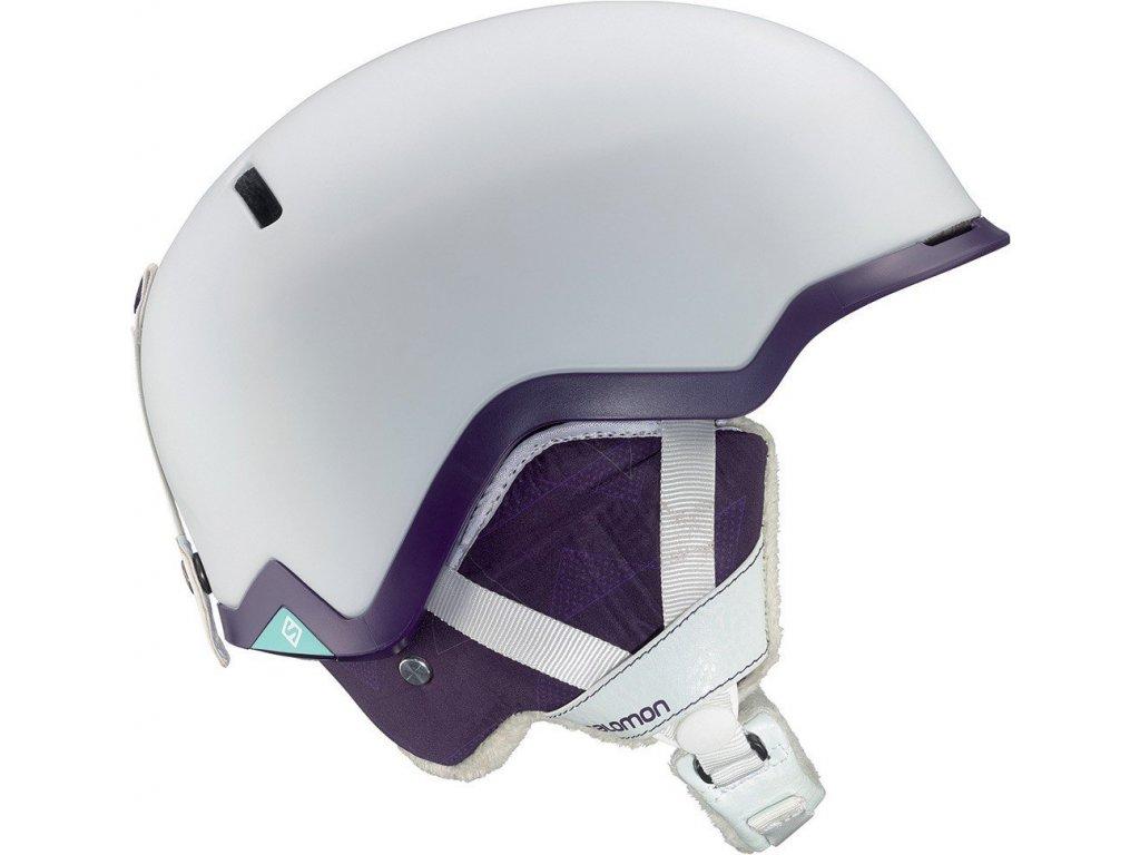 Lyžařská helma Salomon SHIVA C. AIR white