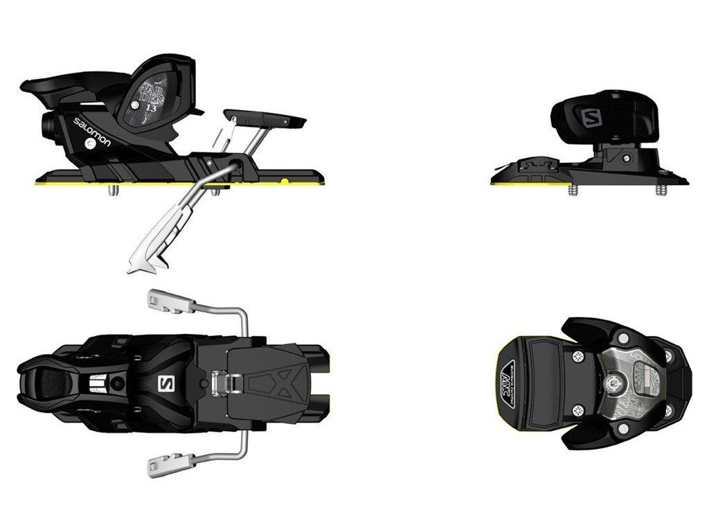 Lyžařské vázání Salomon WARDEN MNC 13 black (brzdy 115 mm)