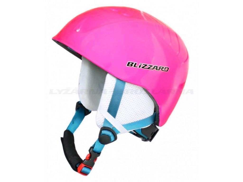 Lyžařská helma Blizzard SIGNAL - pink 18/19