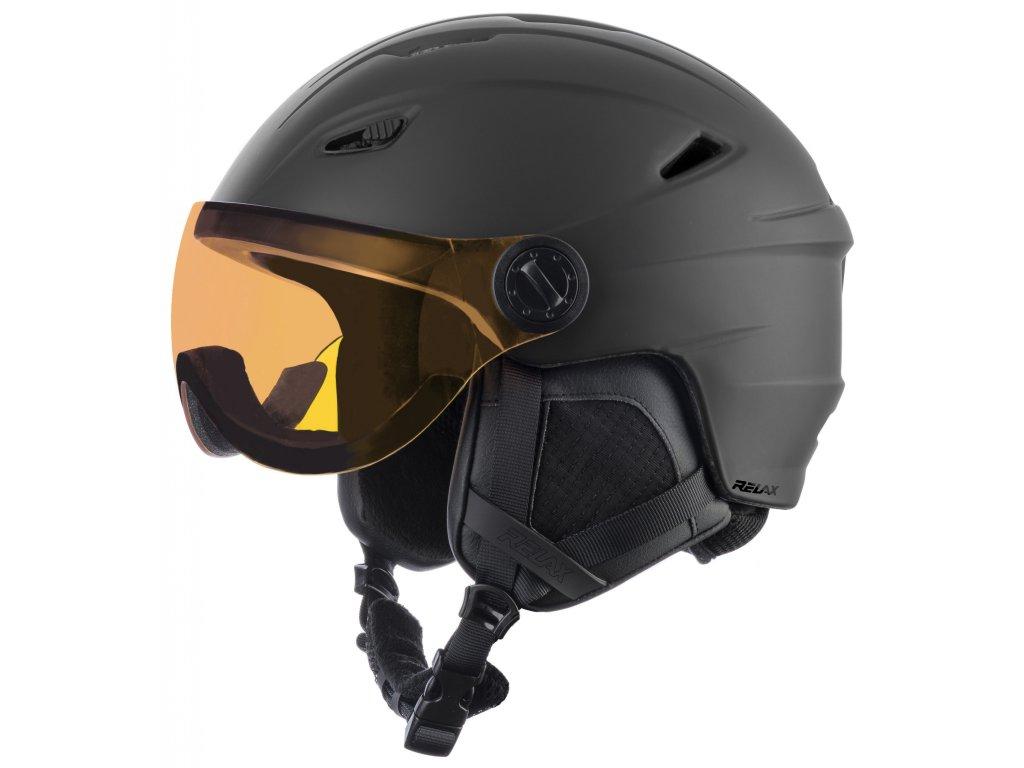 Lyžařská helma Relax STEALTH RH24A