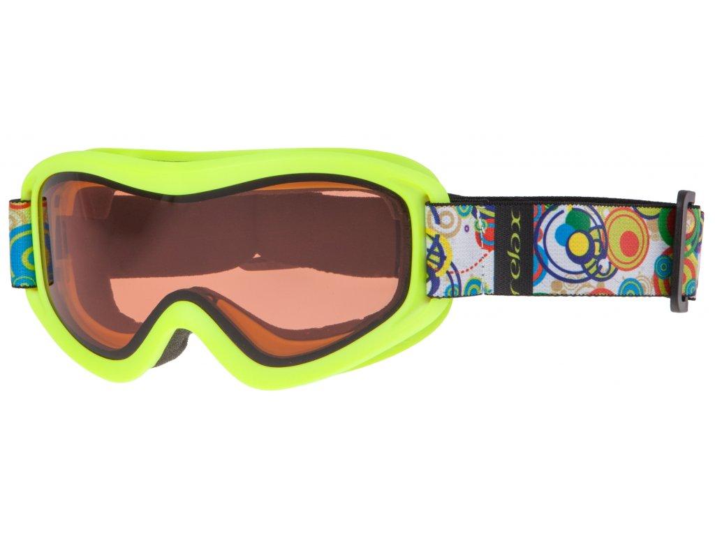 Dětské lyžařské brýle Relax HTG33F TEDDY Jr.