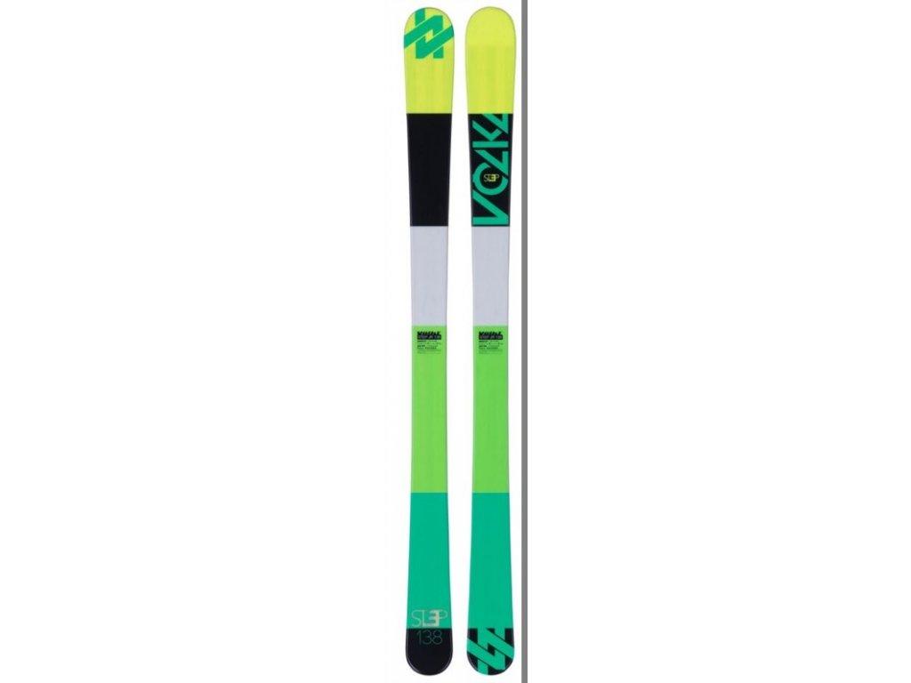 Sjezdové lyže Volkl MINI STEP Junior + Marker 4.5 Fastrak II