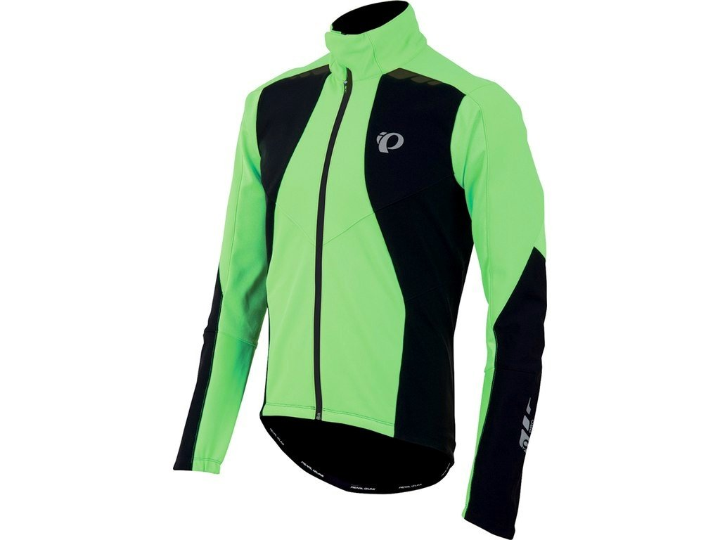 Pearl izumi PRO SOFTSHELL 180 bunda - černo/zelená