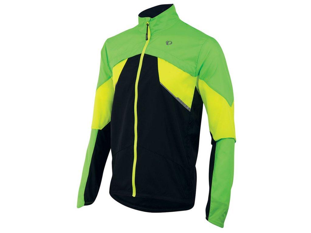Pearl izumi FLY bunda - zeleno/žluto/černá