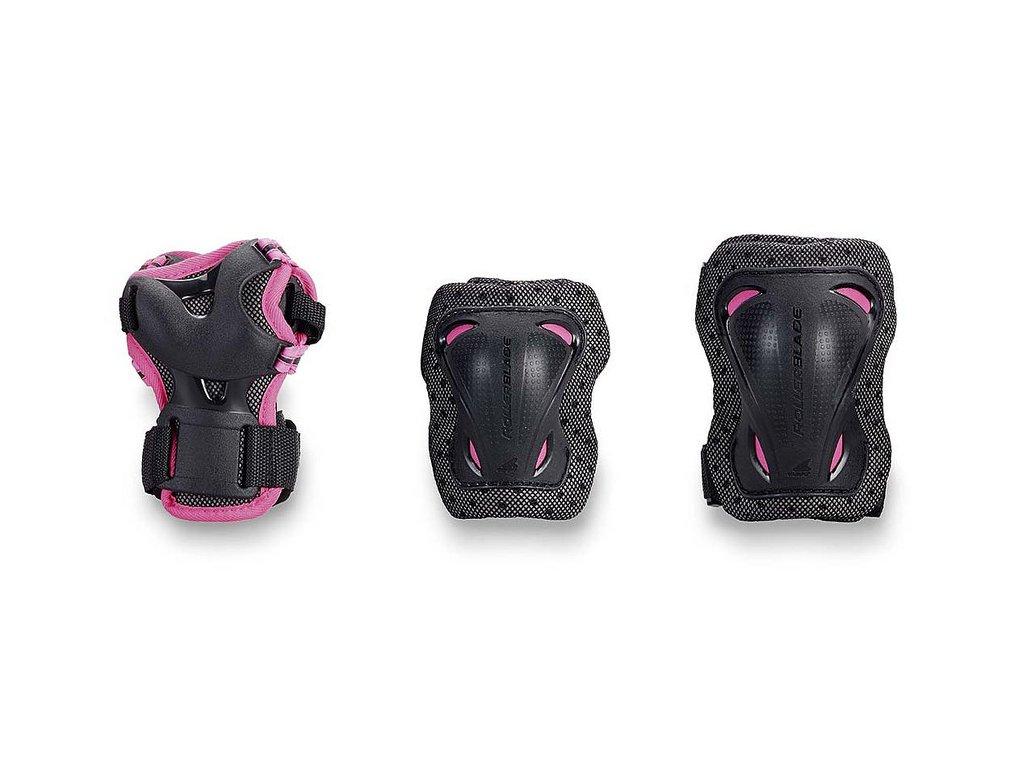 Inline chrániče Rollerblade BLADEGEAR JR 3 PACK, Pink