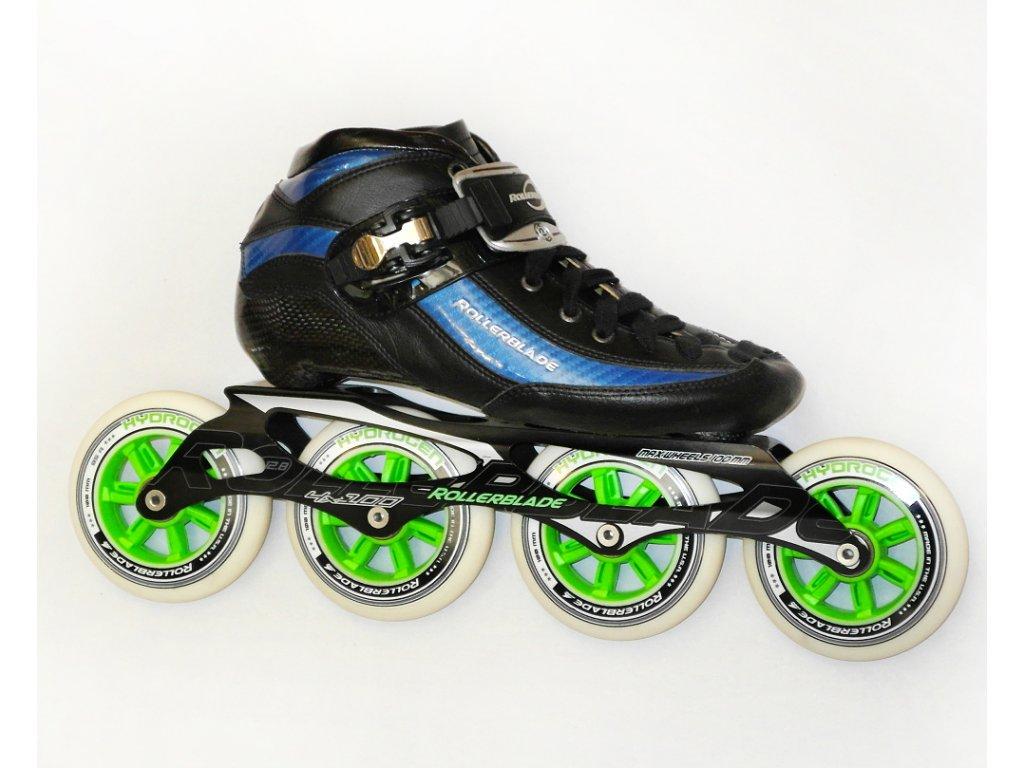 Rollerblade RACEMACHINE PRO 100, blue/black, 15/16