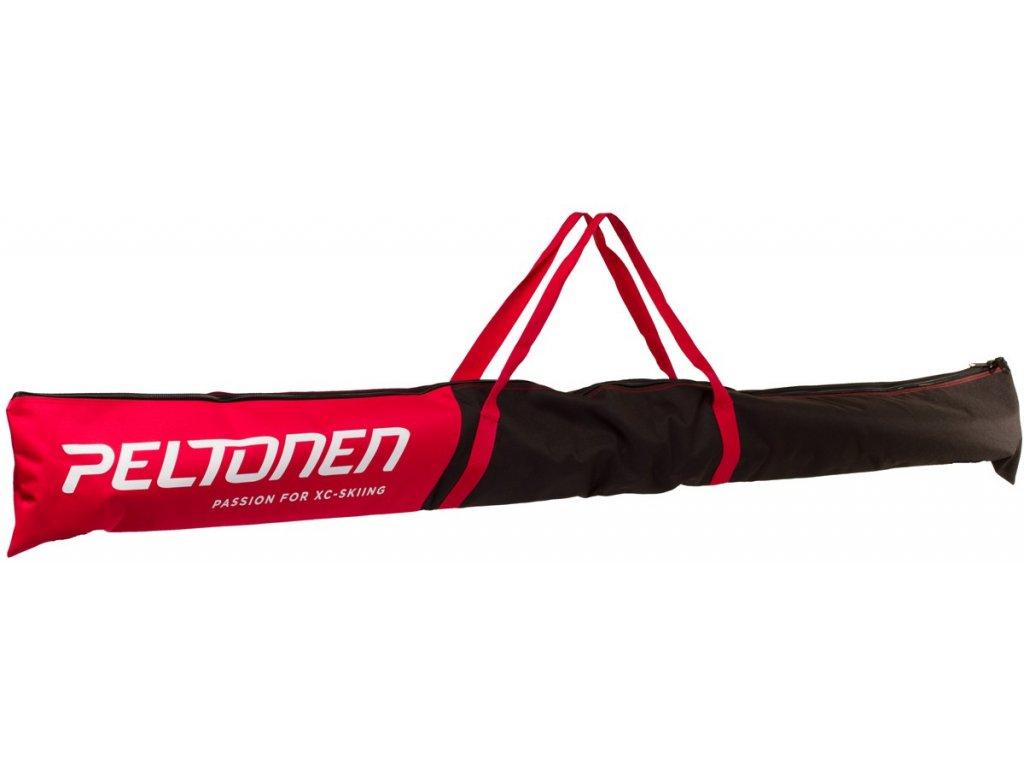 Peltonen XC SKI BAG FOR 1 PAIR black/red 18/19
