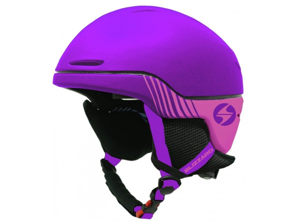 Lyžařská helma Blizzard SPEED Jr. - violet matt/pink matt