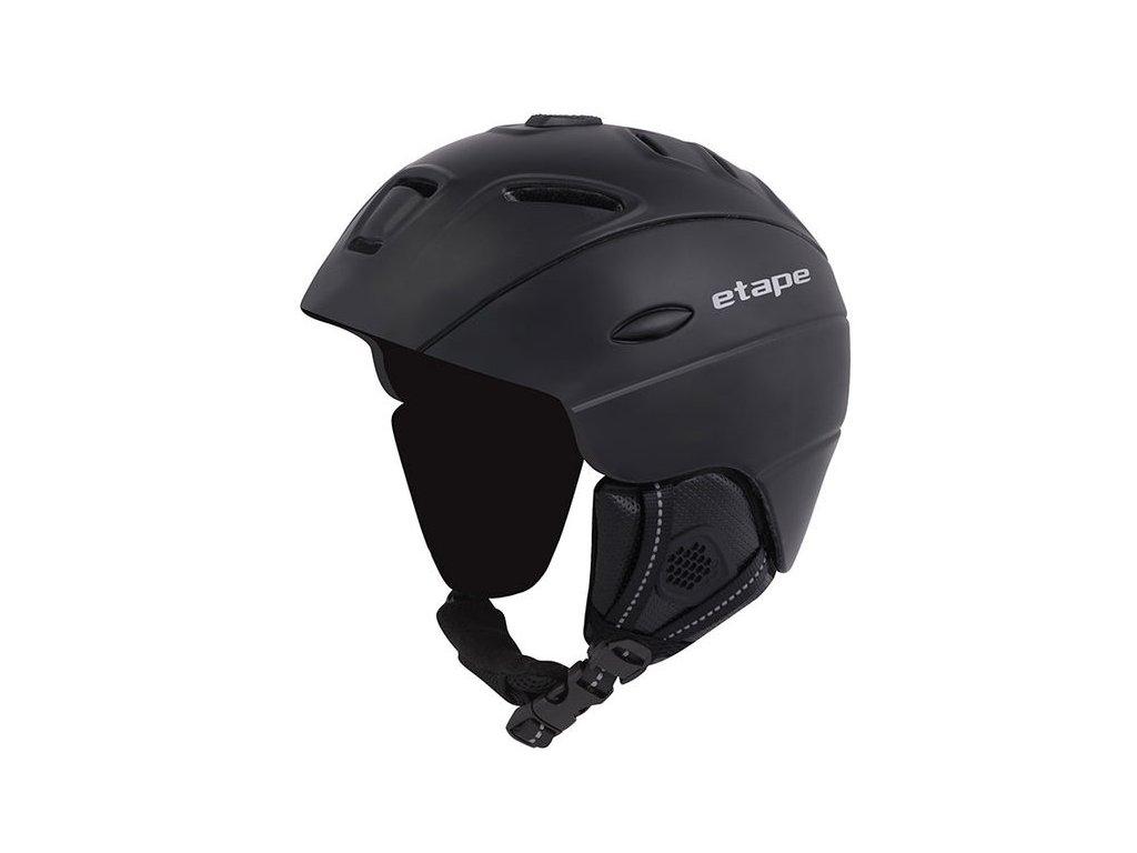 Lyžařská helma Etape COMP - černá mat
