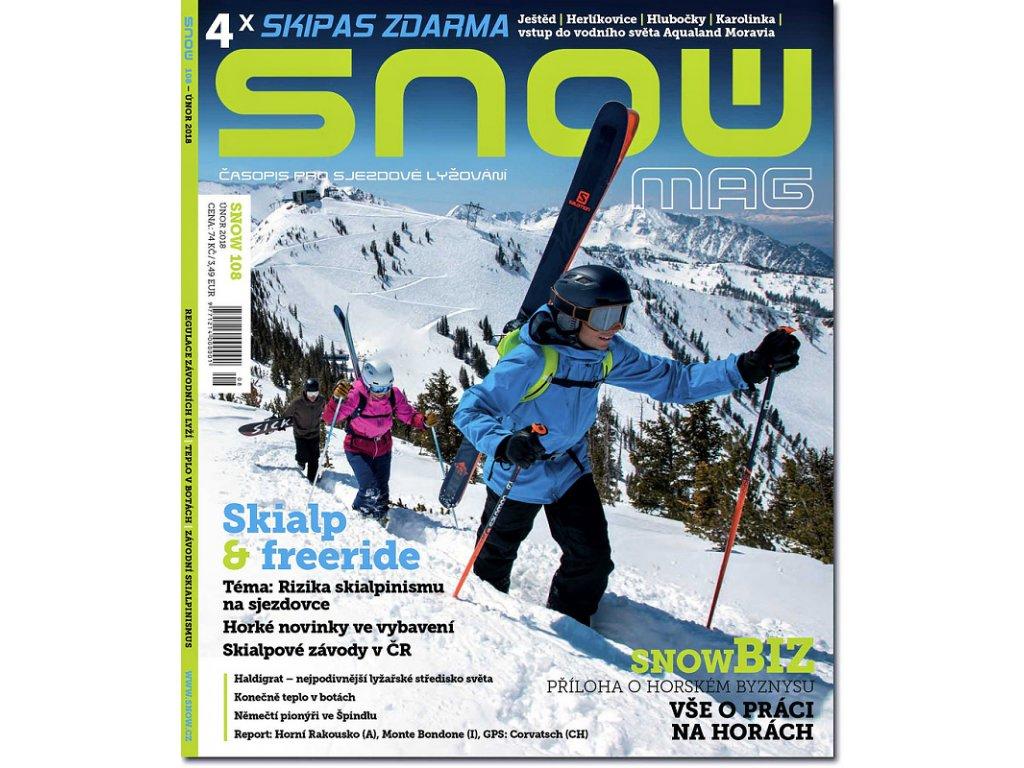 SNOW 108 - únor 2018