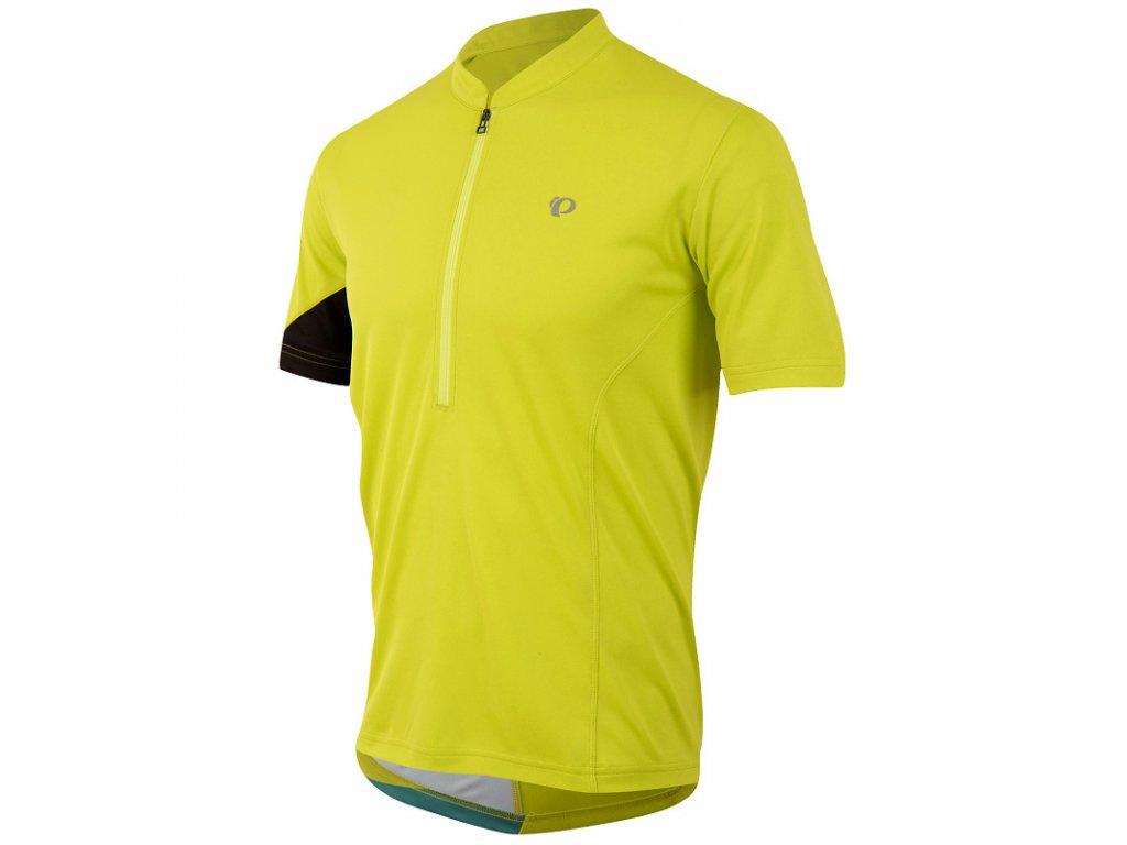 Cyklistický dres PEARL iZUMi JOURNEY TOP dres - žlutý