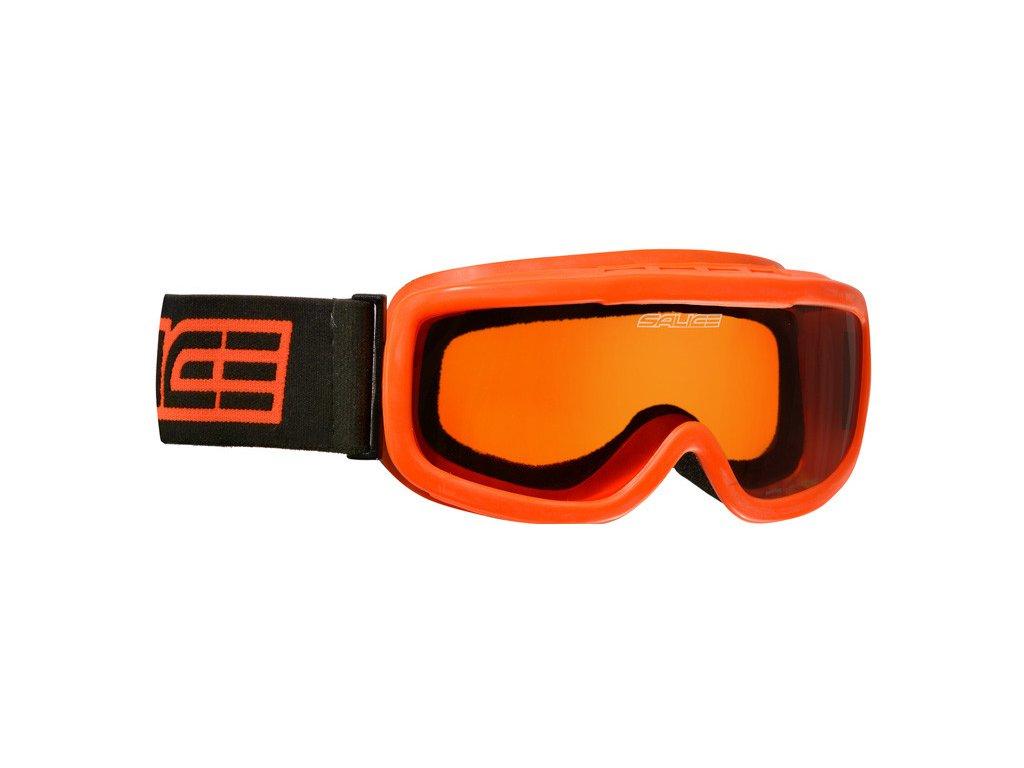 Dětské lyžařské brýle Salice 778A orange/orange