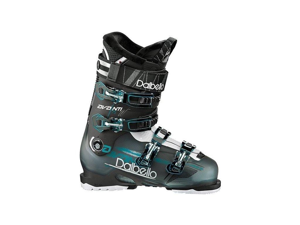 Lyžařské boty Dalbello AVANTI 75W - black transparent/black