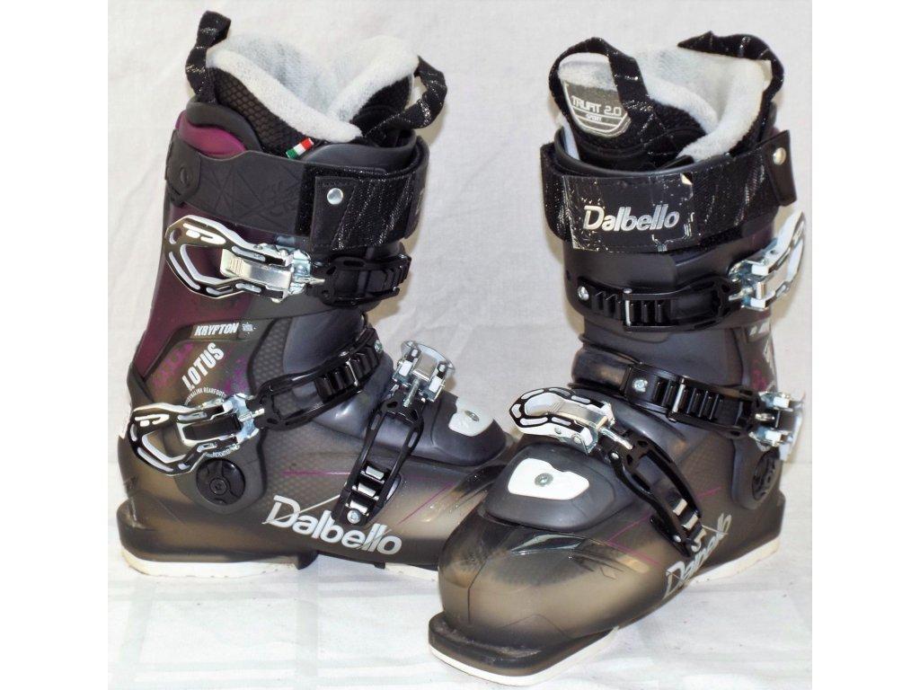 Lyžařské boty Dalbello KRYPTON 2 LOTUS LS  - black transparent/fuxia transparent