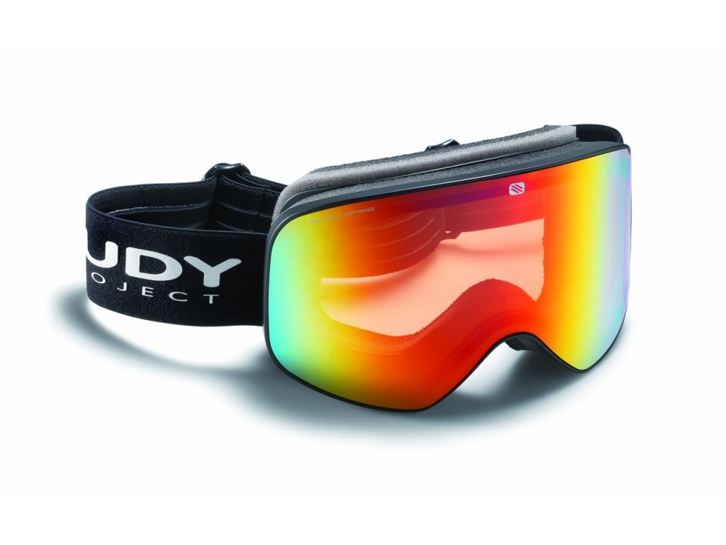Rudy Project SKERMO - black mat/multi laser orange