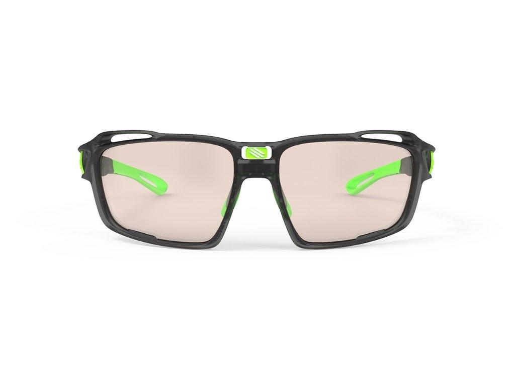 Rudy Project SINTRYX - graphite mat/green/photochromic 2 laser brown