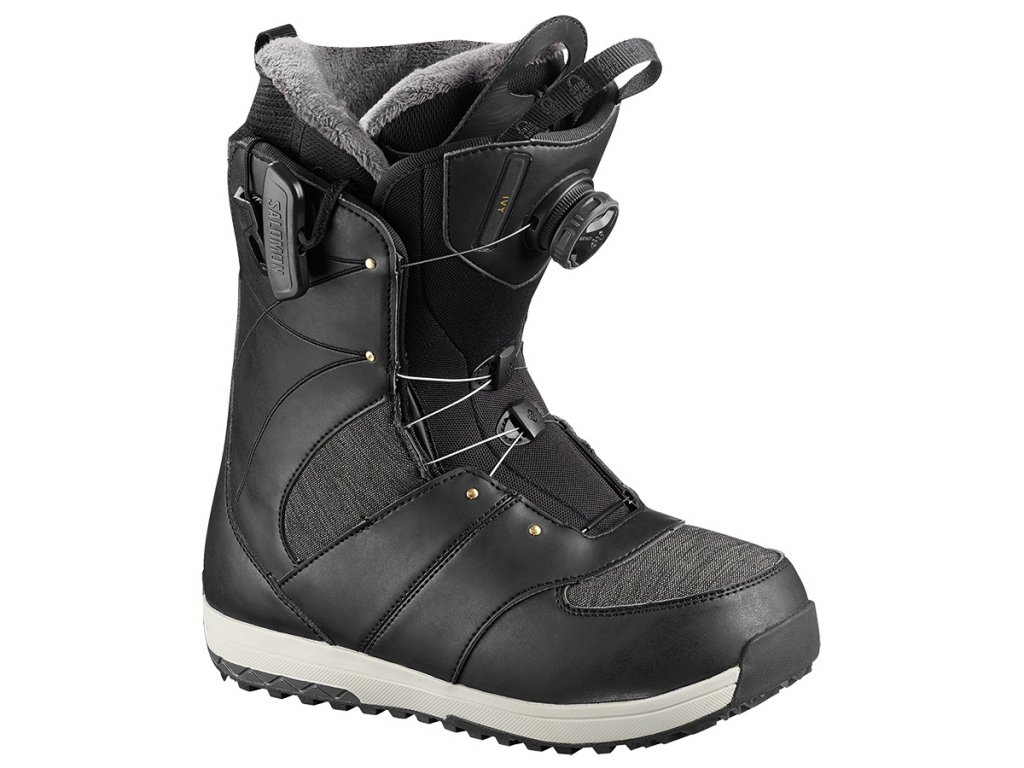 Salomon IVY BOA SJ - black 18/19