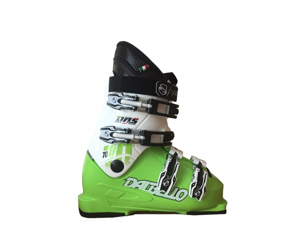 Lyžařské boty Dalbello DRS SCORPION 70 JR - lime/white 16/17