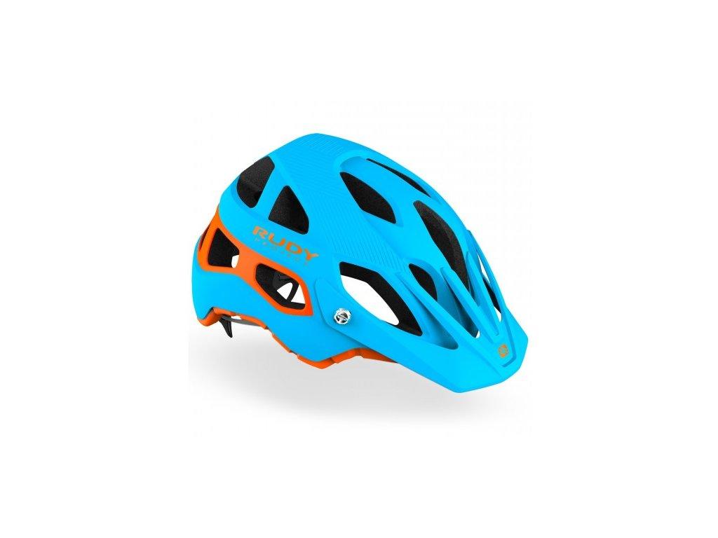 RUDY PROJECT PROTERA - Blue/Orange matte