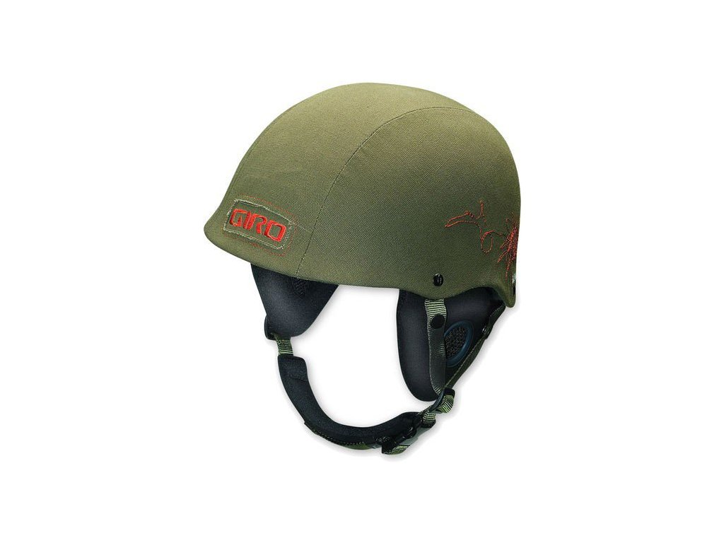 Lyžařská helma Giro BAD LIEUTENANT 08 fatigue Khaki
