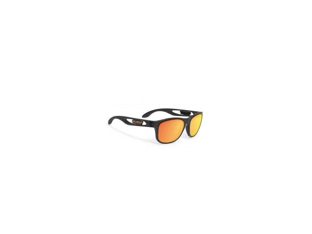 Sluneční brýle Rudy Project GROUND CONTROL - crystal smoke/multilaser orange