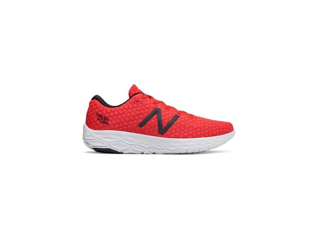 New Balance FRESH FOAM BEACON - black/red červená vel. EUR 43 2019