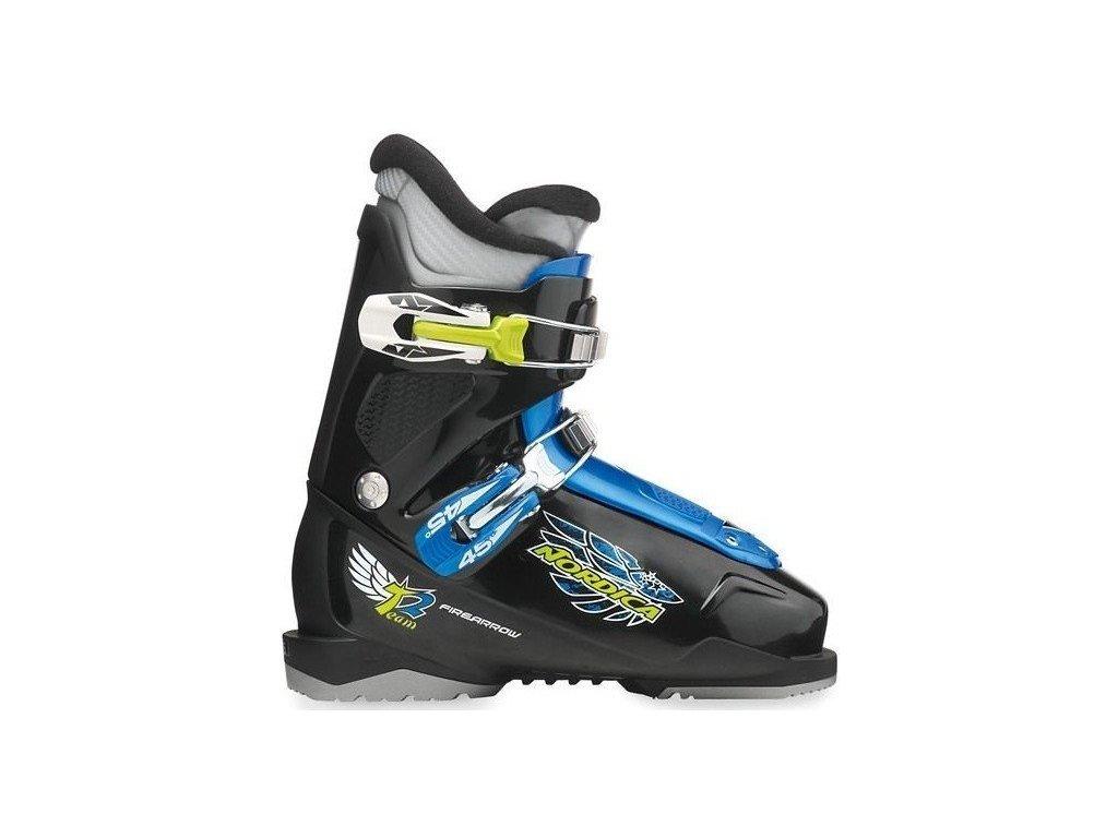 Lyžařské boty Nordica FIRE ARROW TEAM 2 black - použité 17/18