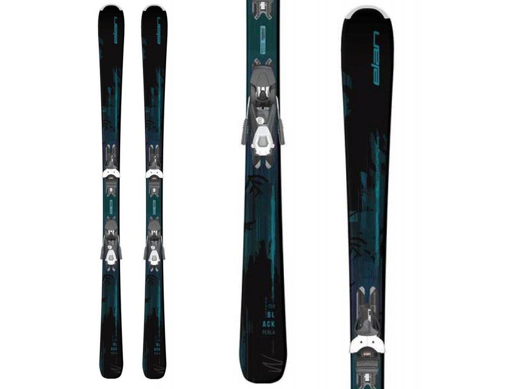 Sjezdové lyže Elan BLACK PERLA LS + vázání EL 7.5 19/20
