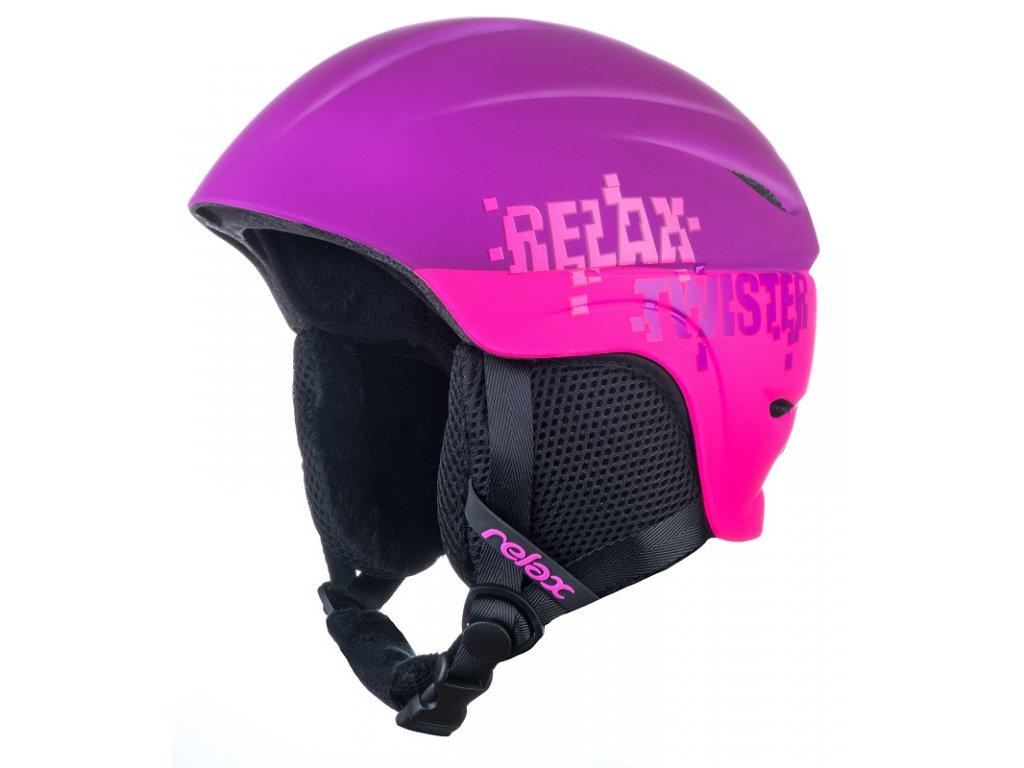 Lyžařská helma Relax TWISTER RH18R